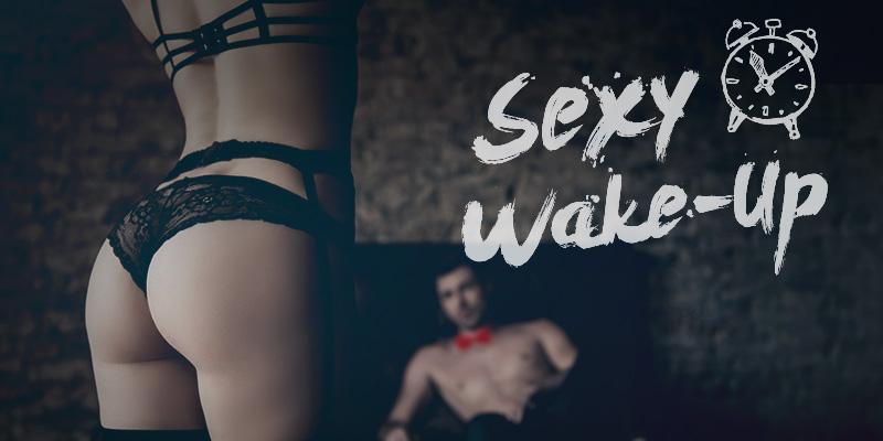 Sexy Wake-Up Strip Dresden